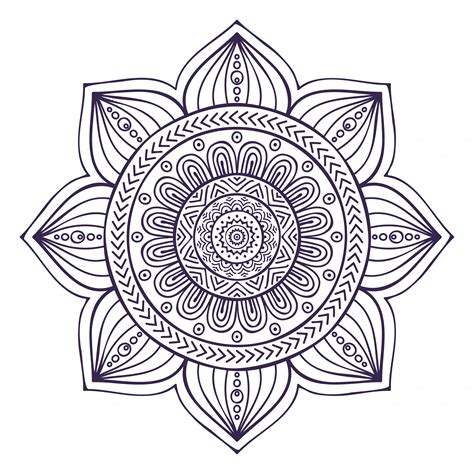 mandala tattoo png mandala collection illustrations on creative market