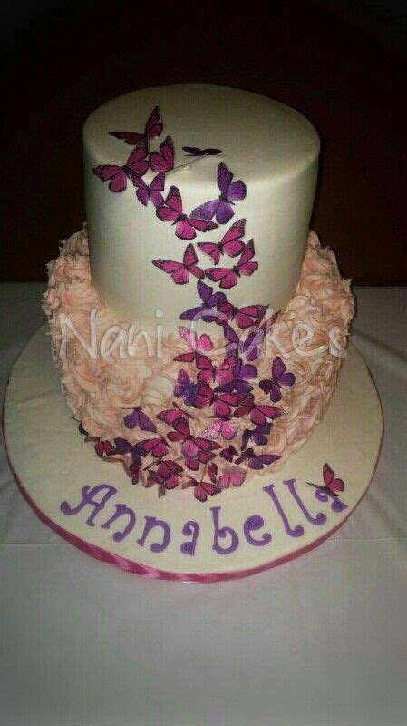 Purple Butterfly Baby Shower Cake by Pink And Purple Butterfly Cake Baby Shower Stay Calm