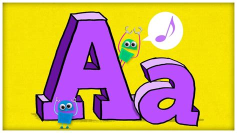 abc song the letter a quot hooray for a quot by storybots