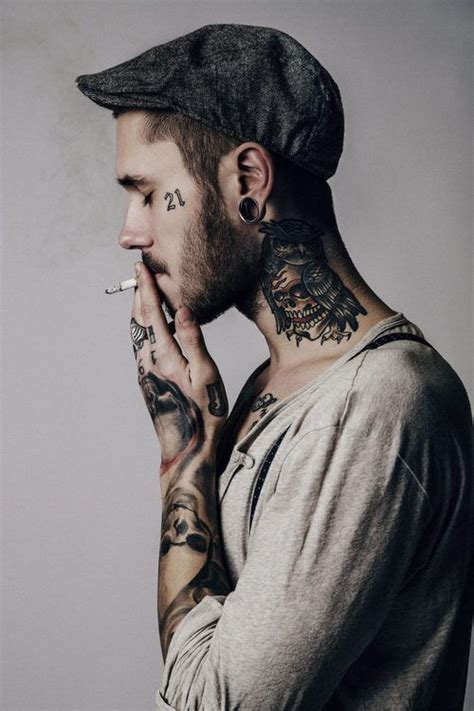 tattoo neck model 1000 ideas about neck tattoos on pinterest tattoos