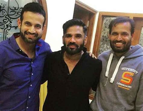 ravi shastri hair transplant images for irfan pathan his brother yusuf pathan and actor