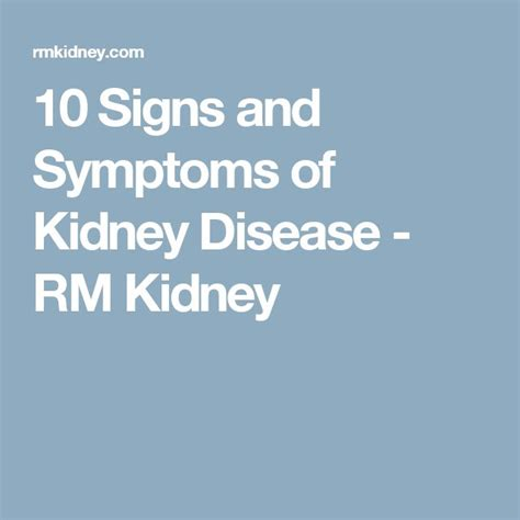 Signs That A Kidney Detox Is Working by Best 25 Symptoms Of Kidney Infection Ideas On