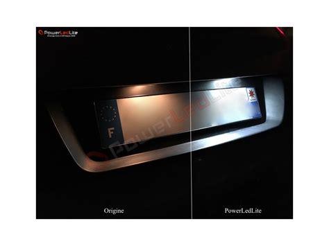 Lu Led Nissan Juke pack eclairage de plaques d immatriculation led pour