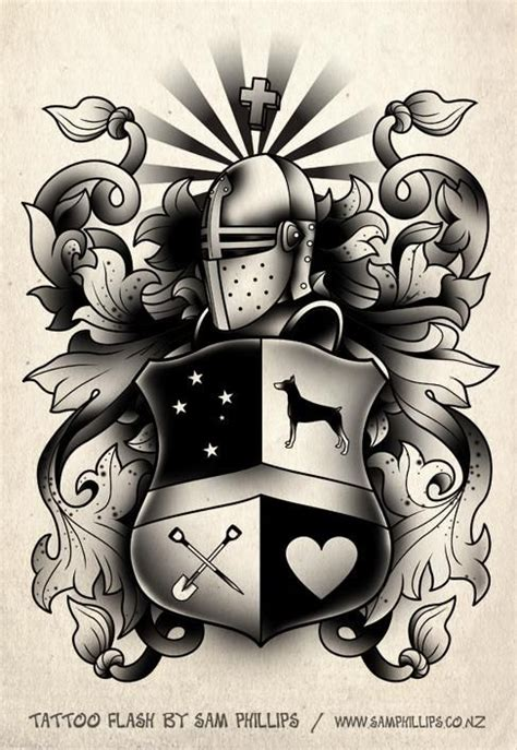family crest tattoo designs 1000 ideas about family crest on crest