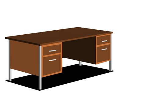 Image Gallery Office Desk Clip Art Office Desk Clipart