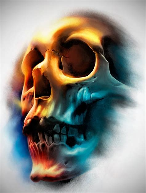 tattoo designs deviantart design color skull by badfish1111 deviantart