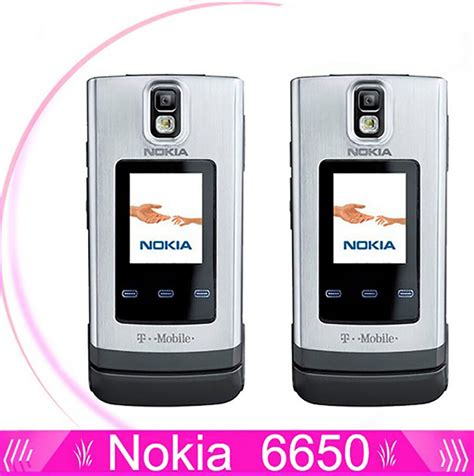 Gps Mobile Phone Nokia 6650 Mobile Phone 3g Gsm Unlocked Flip Cell Phone