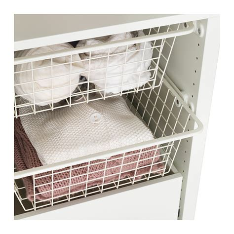 ikea wire baskets for wardrobes komplement wire basket with pull out rail white 50x58 cm