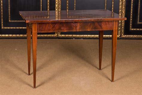 mahagoni tisch hochinteressanter biedermeier spieltisch backgammon tisch