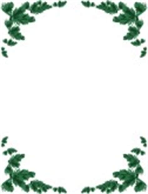 card frames templates pine boughs menu borders musthavemenus