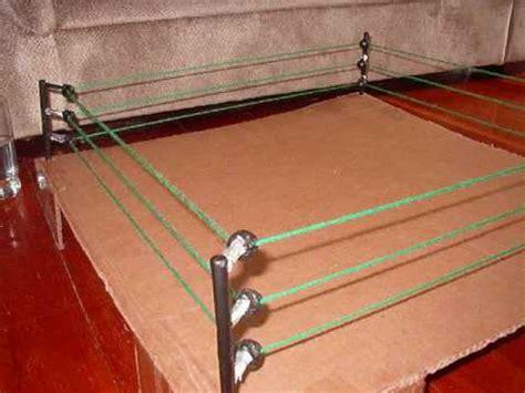Trampoline Bed Homemade Wrestling Ring Youtube