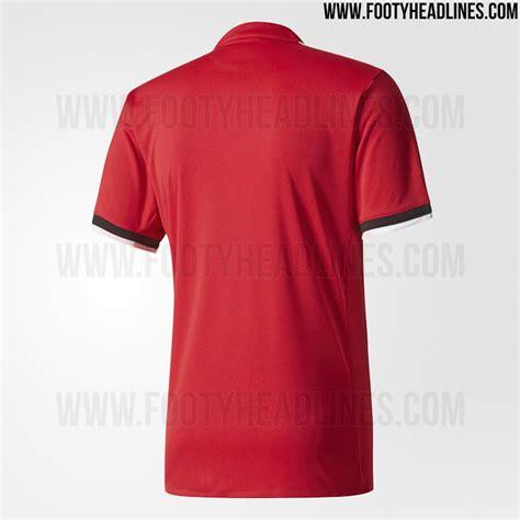 manchester united 17 18 home kit 3 poloskaos d