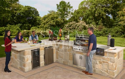 image gallery stone bbq bbq islands custom built in outdoor grills barbecue islands