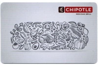 Where To Get Chipotle Gift Cards - send chipotle gift card online lamoureph blog