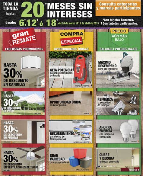 the home depot ofertas cat 225 logos y folletos ofertia