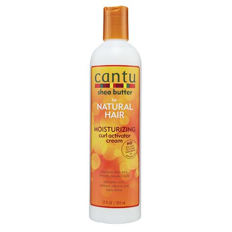 cantu shea butter curl activator cream and creamy hair makeup artists and hairstylists s favorite drugstore