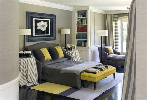 Blue Grey Yellow Bedroom by Gray And Yellow And Blue Bedroom