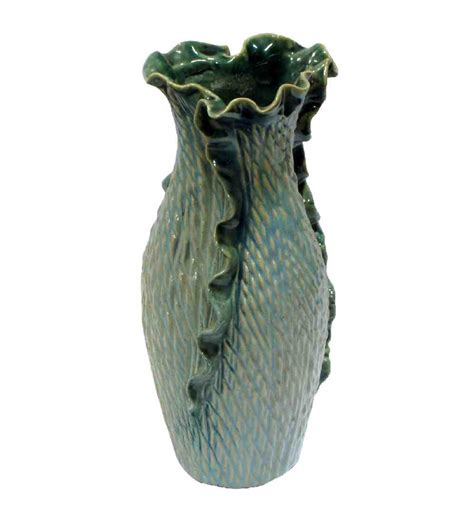 Ceramic Flower Vase by Villcart Ceramic Flower Vase By Villcart Vases Pets And Gardening Pepperfry Product
