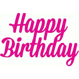 write happy birthday in design silhouette design store view design 44052 happy
