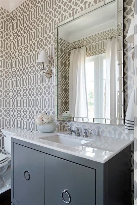 gray powder room gray powder room contemporary bathroom tri