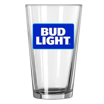 bud light light up glass bud light imitation can drinking glass