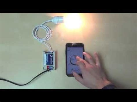 smartphone controlled light switch control lazybone light dimmer by android smartphone via