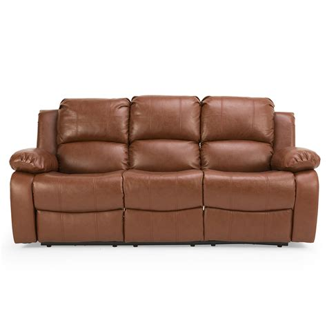 electric reclining sofa leather electric reclining sofa prato 3 seater electric