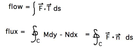section formula vectors geneseo math 223 03 using line integrals of vector field