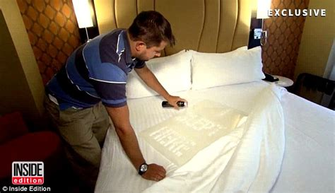 what kind of comforters do hotels use does your hotel clean the sheets investigation reveals