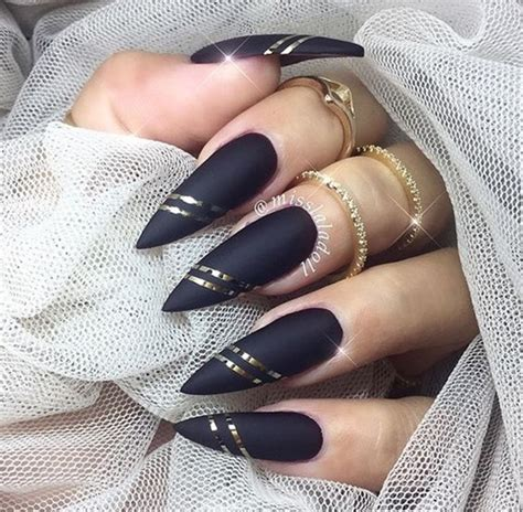 black and red love pattern fake nails japanese cute false 40 pictures of acrylic nail designs