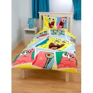 spongebob toddler bedding set amazon com childrens kids spongebob squarepants quilt