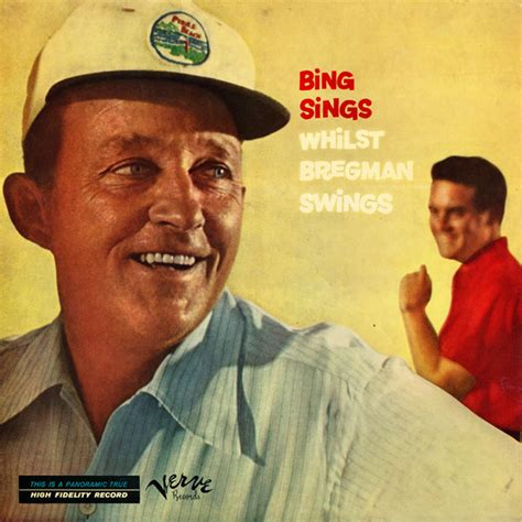 bing sings whilst bregman swings bing crosby buddy bregman bing sings whilst bregman