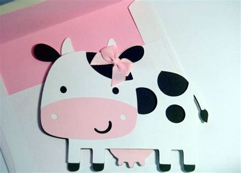 cow birthday card template cow card black and white cow card farm animal card