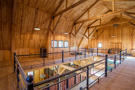 3 Car Garage Plans With Apartment Above gambrel horse barn in nebraska traditional garage and