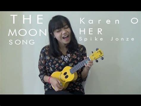 tutorial ukulele moon song the moon song karen o ukulele cover tutorial youtube