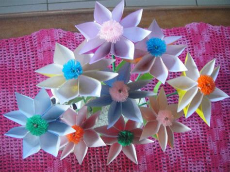 rajutrajut origami flower