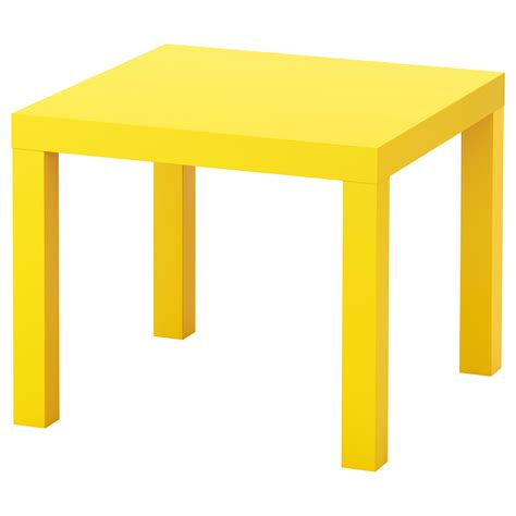 ikea lack tables lack side table yellow 55x55 cm ikea