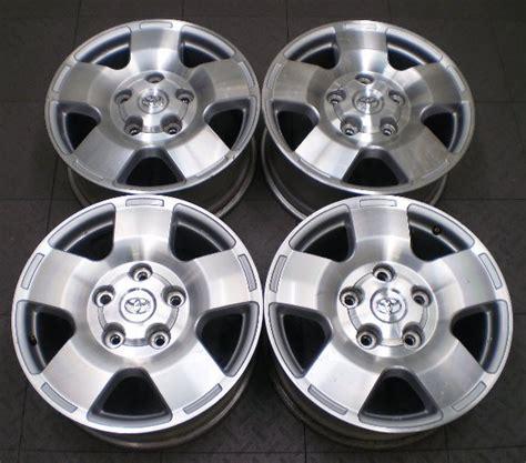 Toyota Tundra Factory Wheels 69516 Toyota Tundra 18 Quot Factory Oem Alloy Wheels Rims Ebay
