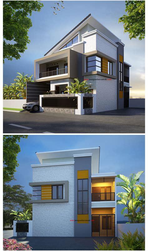 model gambar  foto desain rumah minimalis  lantai