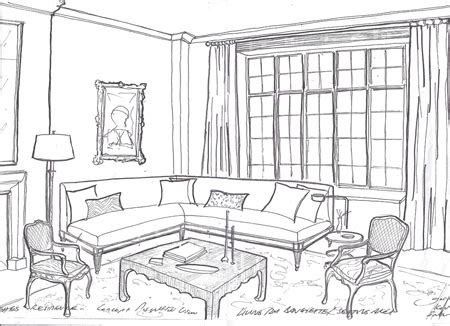 online room sketch simple living room sketch www imgarcade com online