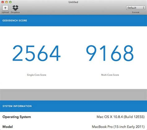 geekbench     benchmark tests released  mac