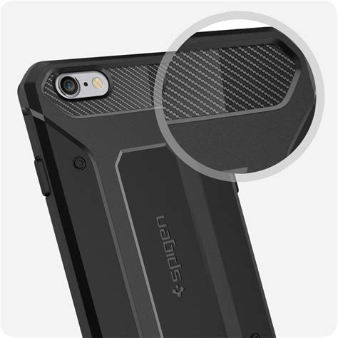 Iphone 8 Armor Rugged Protection Ultimate Carbon Softcase Iphone8 spigen sgp11597 rugged capsule for iphone 6s 6
