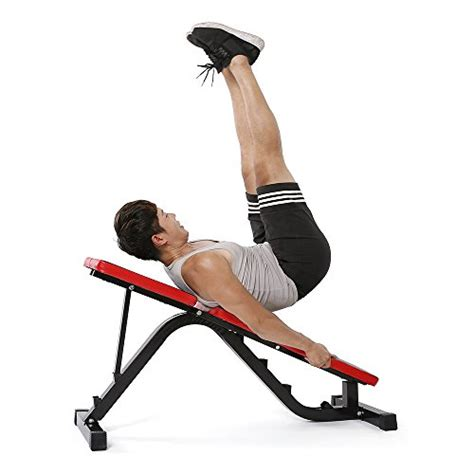 incline bench for sit ups tomshoo adjustable ab sit up bench incline flat abdominal
