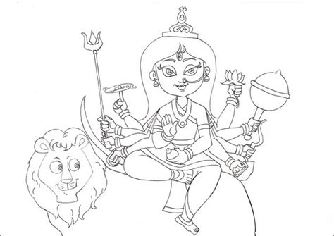 coloring pages festivals india navratri and dussehra festival coloring pages family