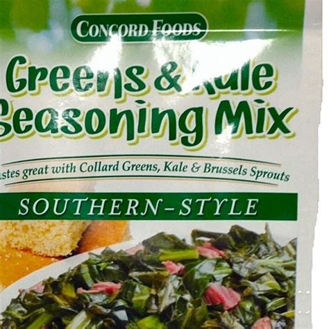 backyard southern style seasoning buy concord greens kale seasoning southern style case of 18 1oz packets by