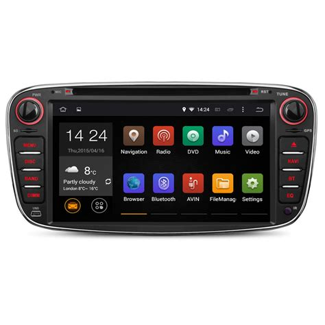 android focus ford focus mk2 android 5 1 unit radio stereo
