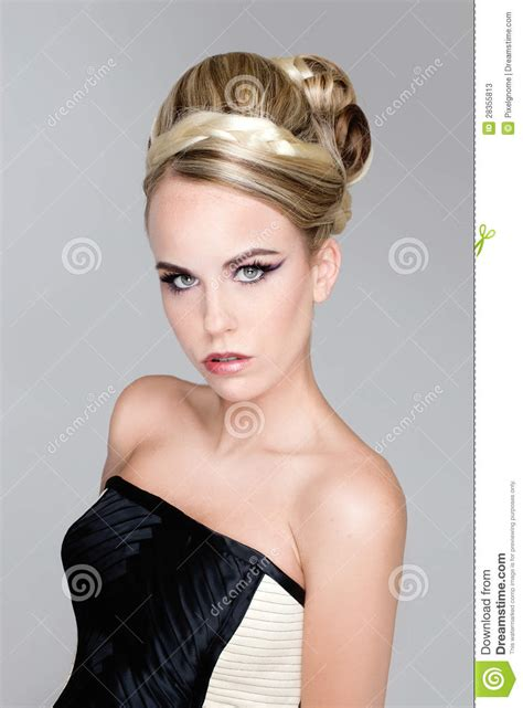 models hair stock photo image salon fashion hair model stock photos image 28355813