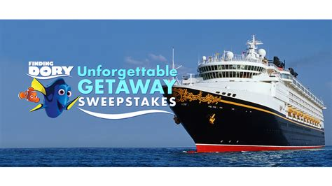 Disney Cruise Sweepstakes 2017 - enter the disney movie rewards finding dory sweepstakes to win an unforgettable getaway