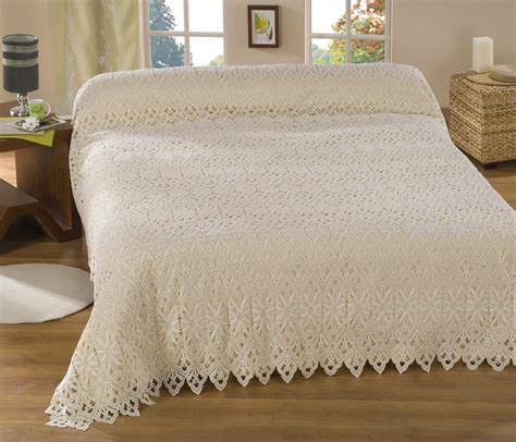 lace bedspreads and curtains macrame lace bedspreads