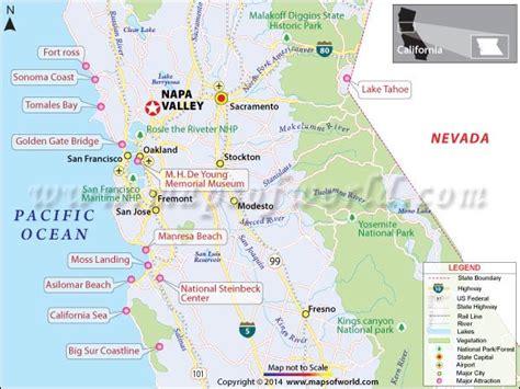 map of california napa valley napa valley california wineries travel info history
